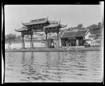 Gateway Emperors Island, 文澜阁牌坊和圣因寺