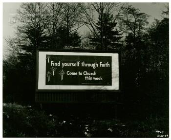 Find yourself through faith