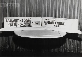 Ballantine beer, alcholic beverages, Ballantine beer, alcholic beverages (2 advertisements)