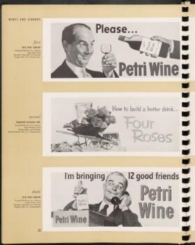 Wines and liquors.