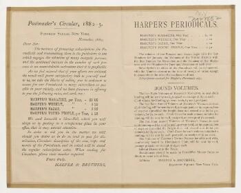 Harper's periodicals